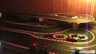 [Nachtfahrt auf dem Nerd Rind - Carrera Digital 124] Video