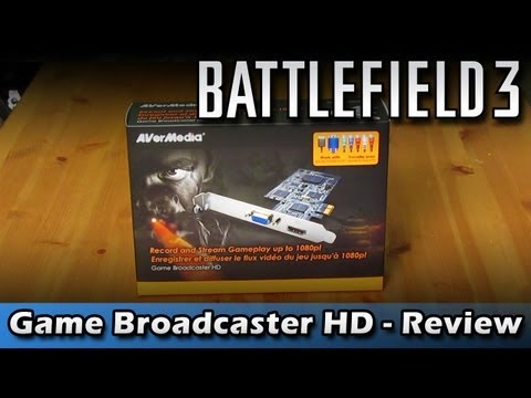 Battlefield 3: Game Broadcaster HD Review (Avermedia) Unboxing
