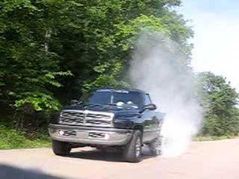 dodge ram burnout. 1997 Dodge Ram burnout