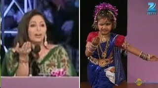 5 Yr Old Cute Lakshika STUNS Judges with a Jaw Dropping LAVANI DANCE Performance