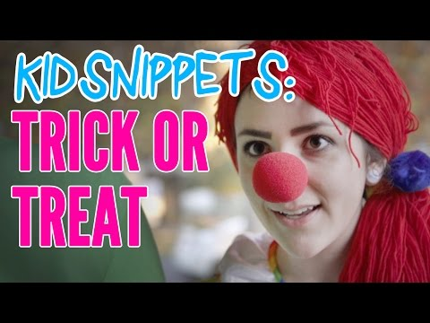 Kid Snippets: trick Or Treat (imagined By Kids) video