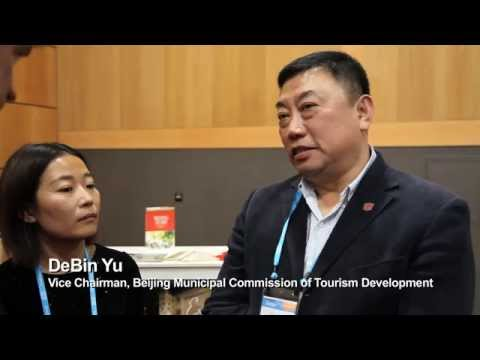 (Chinese) DeBin Yu, Vice Chairman, Beijing Municipal Com. Tourism Development - Unravel Travel TV