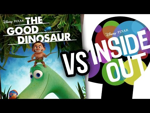 Most Anticipated Pixar Movie of 2015: Inside Out vs The Good Dinosaur
