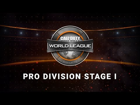 1/13 Europe Pro Division Live Stream - Official Call of Duty® World League