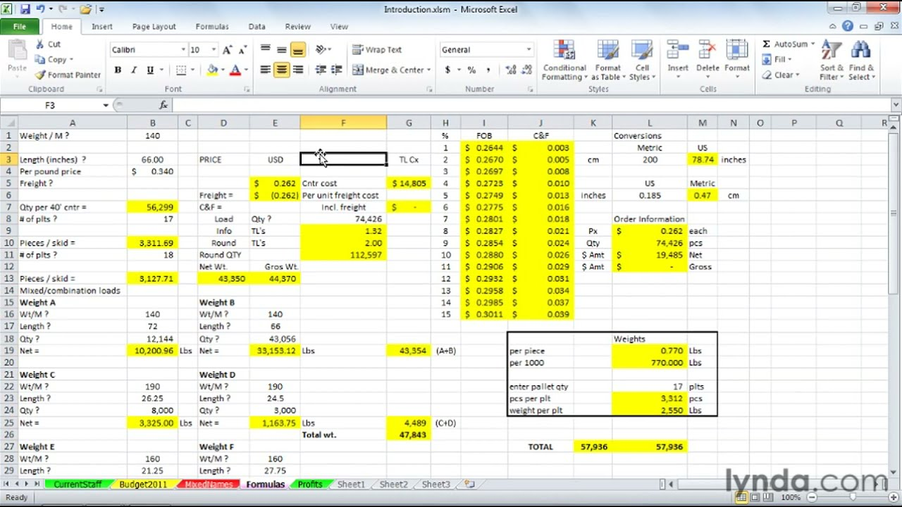 How to use macros in Excel | lynda.com tutorial - YouTube