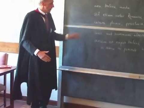 Teaching Latin at Kamuzu Academy