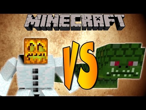 SNOW GOLEM MUTANTE VS NAGA - Minecraft Batallas de Mobs - Mods