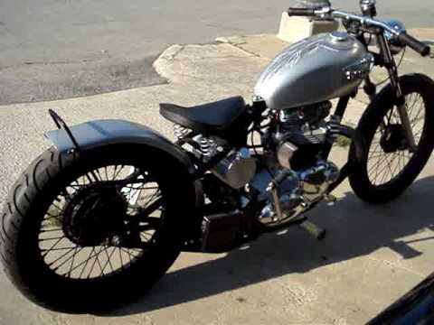 Hotshoe Customs Randy's Triumph Video