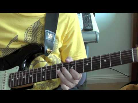 Hosanna - Hillsong United - Lesson (Electric Guitar) - Fender John Mayer BLK1 Stratocaster