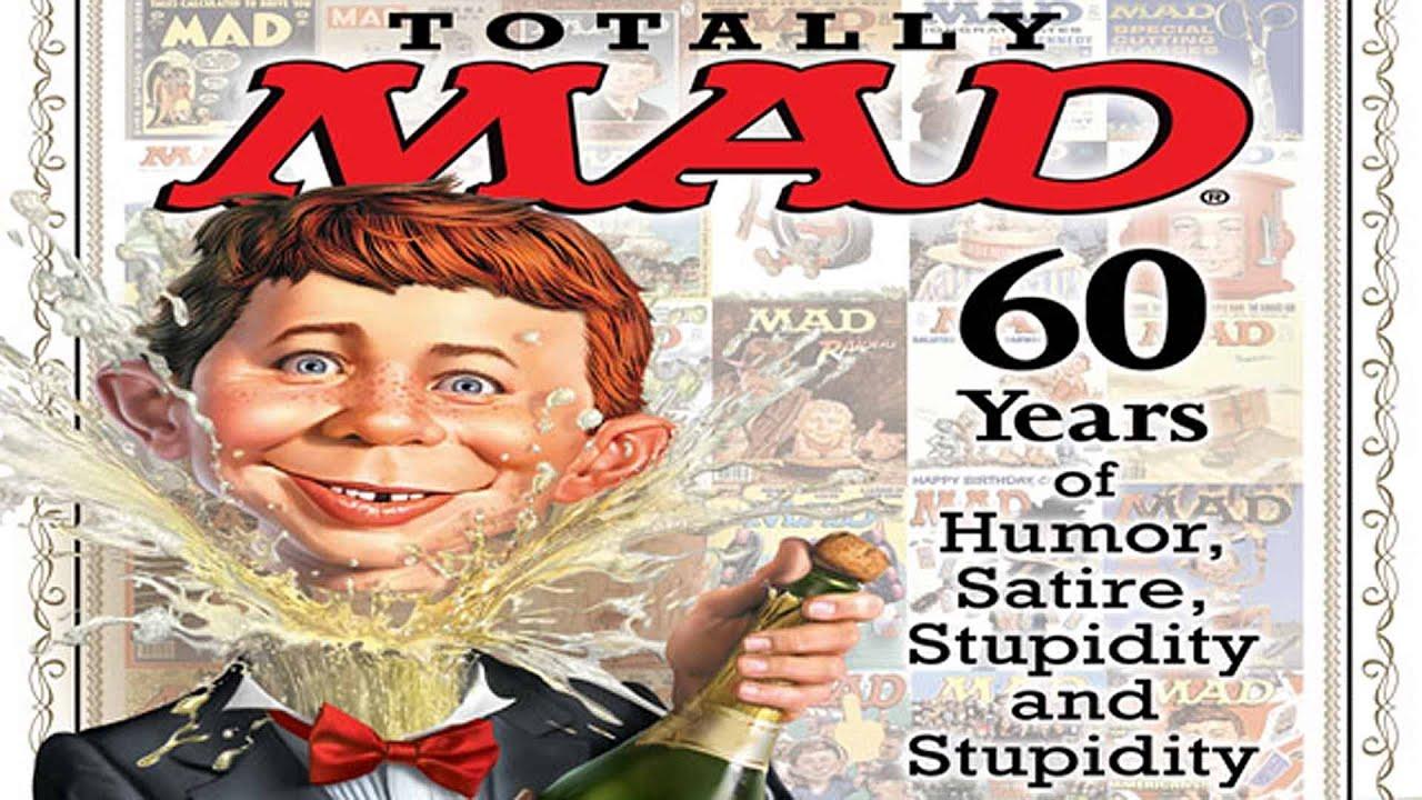 72 Classic MAD Magazine Covers  Gunaxin Humor