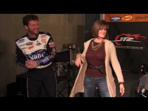 Kimberly McCullough and dale earnhardt jr