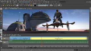 Maya 2014 3D Animation -  Camera sequencer