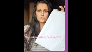 MYSTERIOUS WHITE PACKAGE!?!