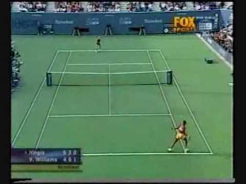 ビーナス(ヴィーナス) ウィリアムズ vs マルチナ ヒンギス 2000 全米オープン ハイライト