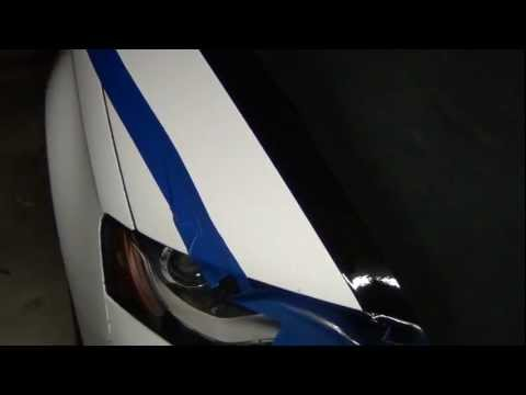 PlastiDip - Masking. Lines and Stripes on Your Car - How to PlastiDip in Sections