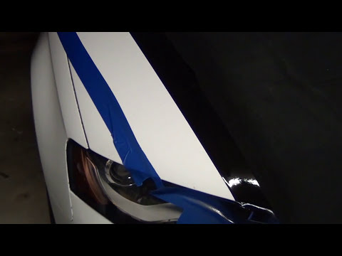 PlastiDip - Masking, Lines and Stripes on Your Car - How to PlastiDip in Sections