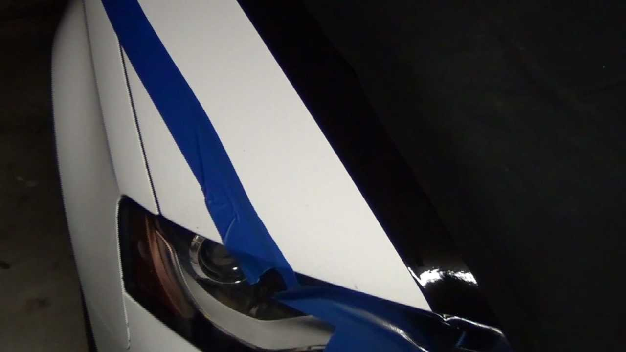 Plastidip Masking Lines And Stripes On Your Car How