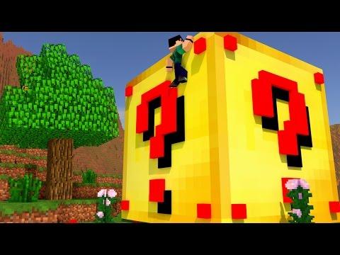Minecraft - CUBÃO DE LUCKY BLOCK DE OURO - MINI GAME PVP!