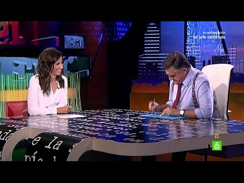 El casting de Ana Pastor para sustituir a Sandra Sabatés en El Intermedio thumbnail