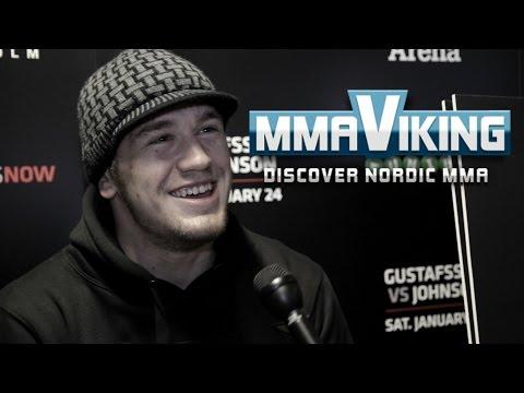 UFC Sweden 4 Viktor Pesta Pre Fight Interview