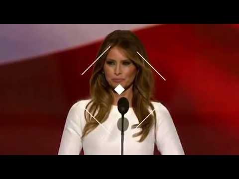 V? t? phú Donald Trump hình nh? ??o v?n phát bi?u c?a bà Michelle Obama t?i ??i h?i toàn qu?c 2008