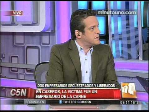 C5N - POLICIALES: DOS EMPRESARIOS SECUESTRADOS Y LIBERADOS