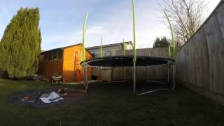 TP Trampeazee 12ft Trampoline Assembly