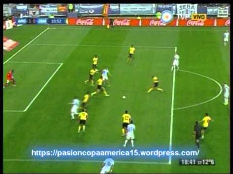 Argentina 1 Jamaica 0 (ADN Radio Chile 91.7) Copa America 2015
