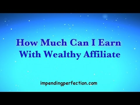 How Much Can I Earn With Wealthy Affiliate