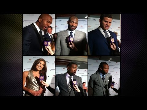 Sports Spectacular 2013: Former Lakers, Hope Solo, DeAndre Jordan, Kris Humphries & More!