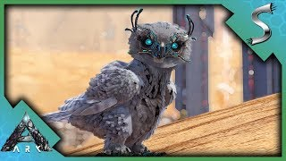 THEY GAIN SPEED? SNOW OWL BREEDING! - Ark: Extinction [DLC Gameplay E18]