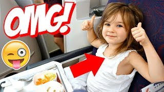 5 YEAR OLD FLiES BUSiNESS CLASS TO CHiNA! ✈🇨🇳