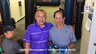 Brodal Boran Gym owner meets Kun Khmer legend