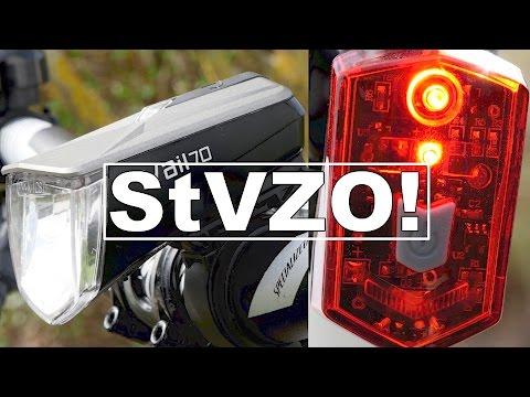 """LED Fahrradbeleuchtung MIT STVZO ZULASSUNG! Büchel """"Vail"""" im TEST!"""
