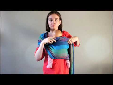 Ringsling Tutorial w/Newborn & Toddler