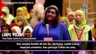gadis kristen penasaran kenapa banyak orang yang mau masuk islam