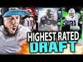 HIGHEST RATED DRAFT!! MADDEN 18 DRAFT CHAMPIONS GAMEPLAY MP3