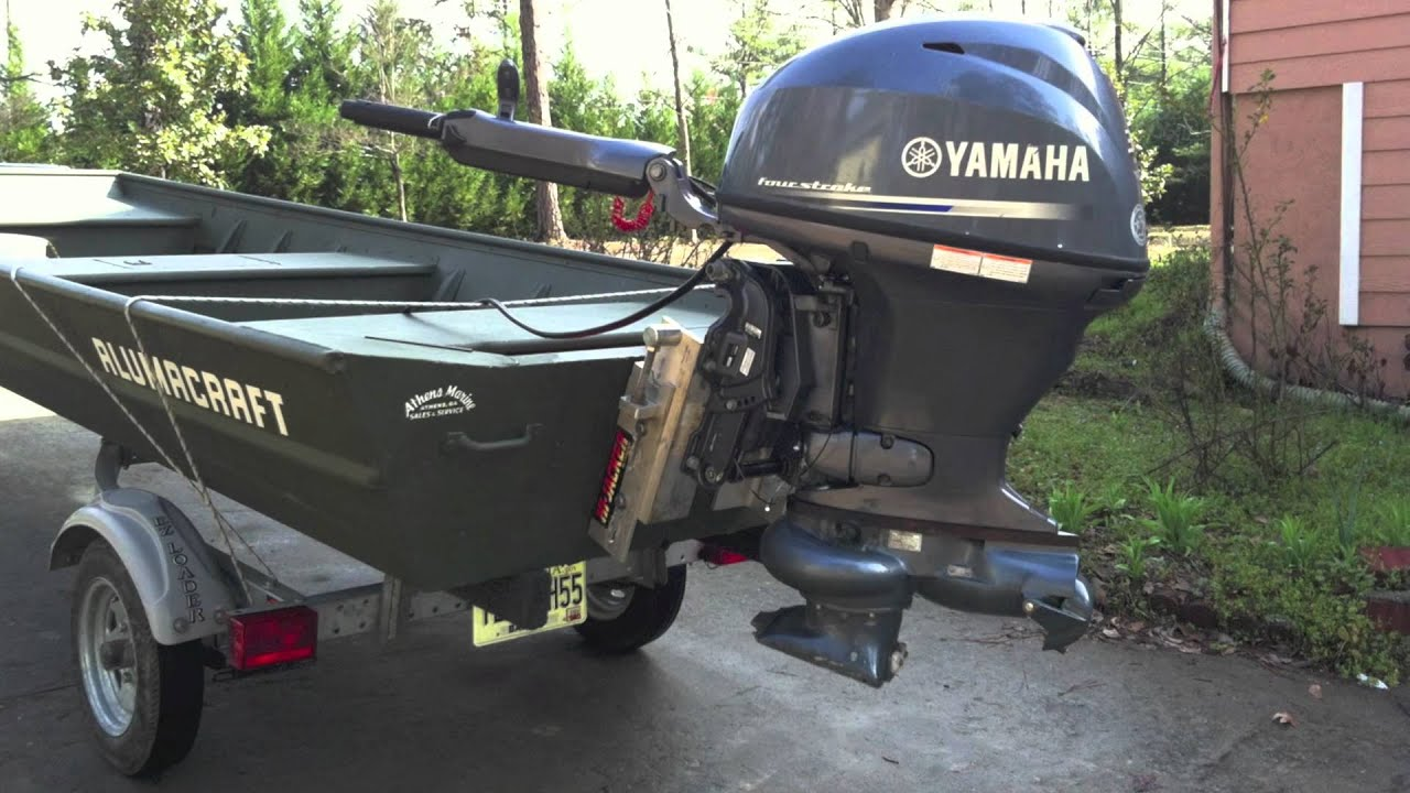 Yamaha Jet Motor For River Application Youtube