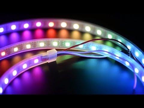 Cum sa montezi o banda LED pt lumina de ambianta sub birou sau unde vrei tu!