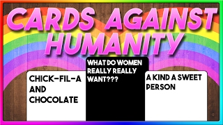 What Do Women REALLY Want? (Cards Against Humanity Online with The Crew!)