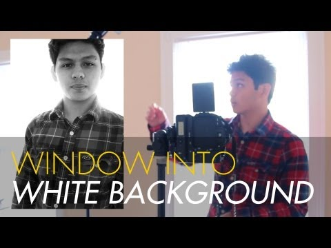 Use your Window as a White Backdrop - Off-Camera Flash/Strobist Photography Tutorial - CamCrunch