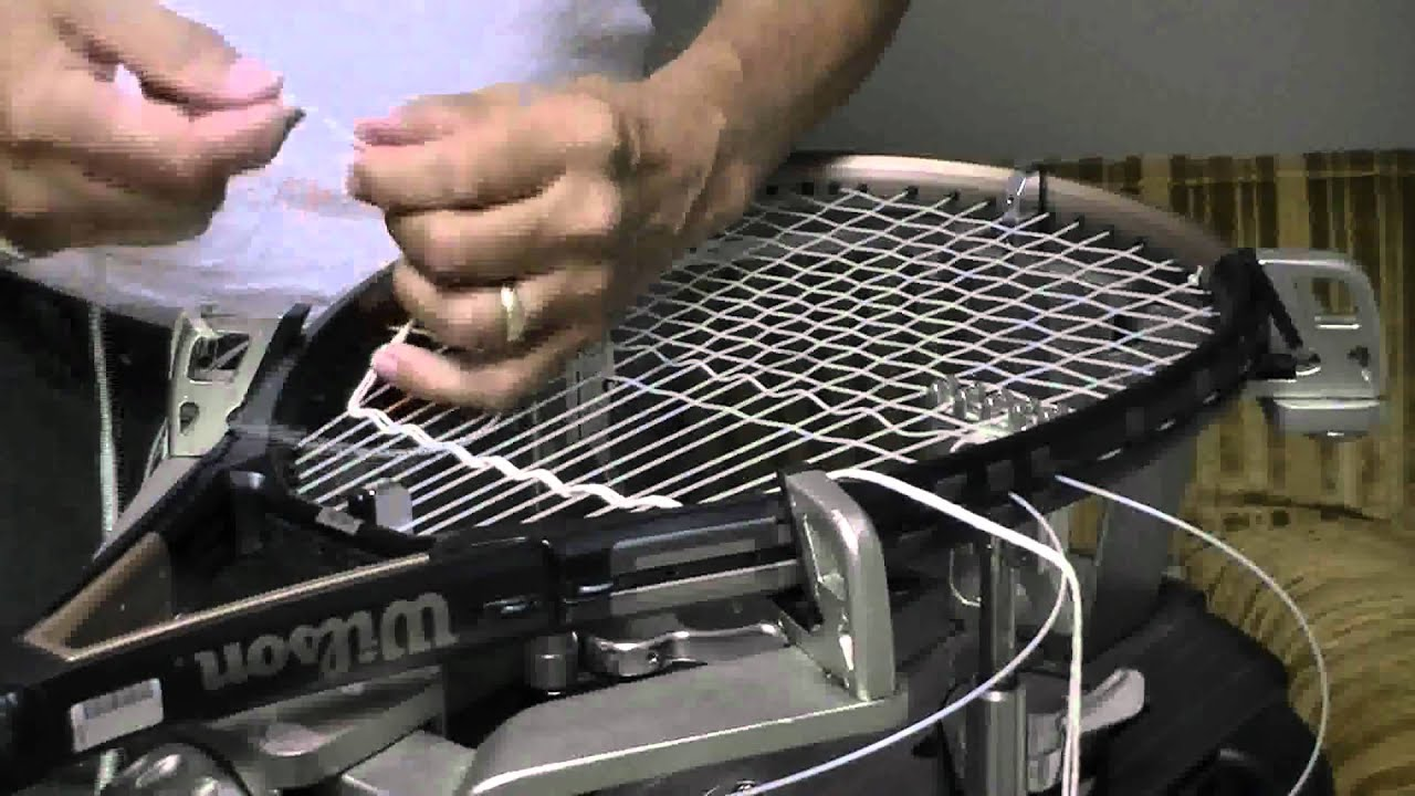 how to choose a tennis racquet string