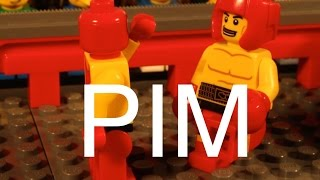 Lego Pim in boxing