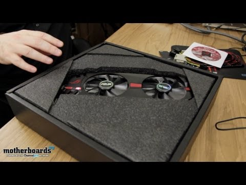 ASUS MATRIX HD 7970 PLATINUM EDITION VIDEO CARD UNBOXING & HANDS ON!