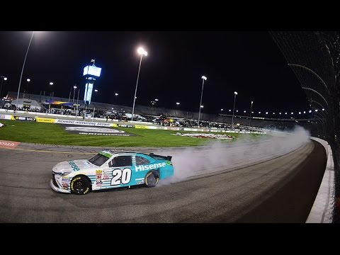 Hamlin delivers a win in home state