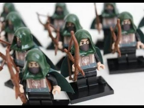 lego lord of the rings gondor rangers
