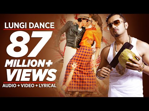lungi Dance The Thalaiva Tribute Official Full Song | Honey Singh, Shahrukh Khan, Deepika Padukone video