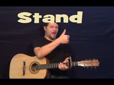 Stand (REM) Easy Guitar Lesson How To Play Tutorial