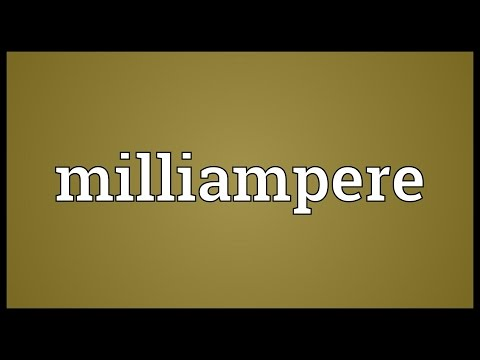 Header of milliampere