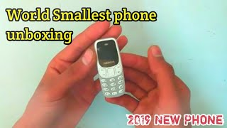 World's Smallest phone unboxing